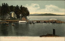 Hotel Weirs, Recreation Pier Postcard