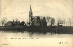Chapel and Pond, M.A.C