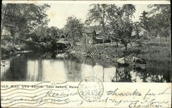 Old Mill and Brook, Lake Auburn