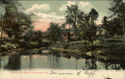 Bobbin Mill Brook Postcard