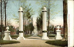 Bowdoin College - Memorial Gateway