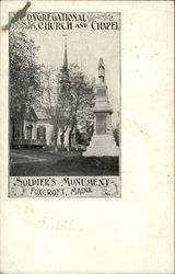Congregational Church and Chapel, Soldier's Monument