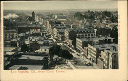 View from Court House Postcard