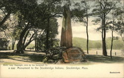 Monument to the Stockbridge Indians