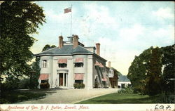 Residence of General B. F. Butler