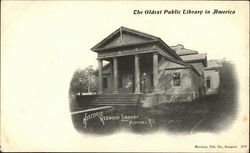 The Oldest Public Library in America, Historic Redwood Library