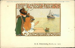 Red Star Line, SS Vaderland, March 29-1905