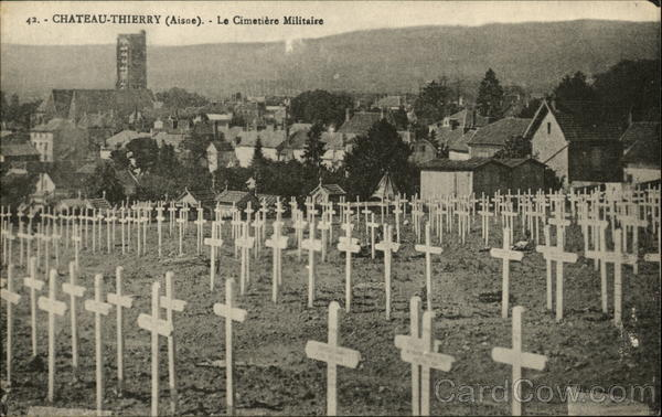 Chateau-Thierry- the military cementery France