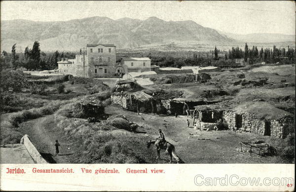 Jericho. General view Palestinian National Authority