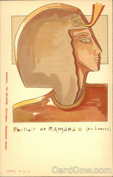 Portrait of Ramses II (At The Louvre) Egypt Africa