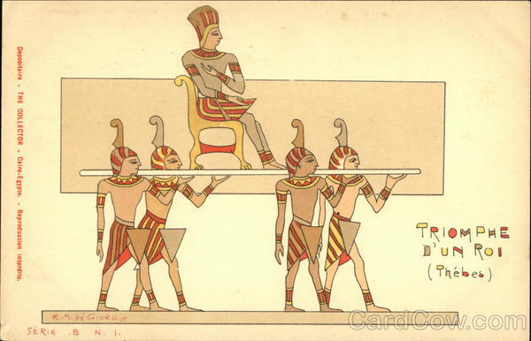 Triumph of A King - Thebes Egypt Africa