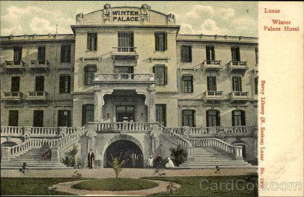Winter Palace Hotel Luxor Egypt Africa
