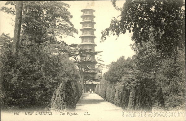 View Of The Pagoda At Kew Gardens London United Kingdom