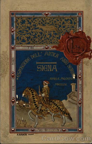Exposition of Ancient Sienan Arts - April-August 1904 Seneca Italy