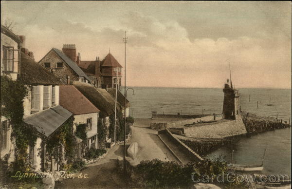Lymouth Pier Lynmouth England