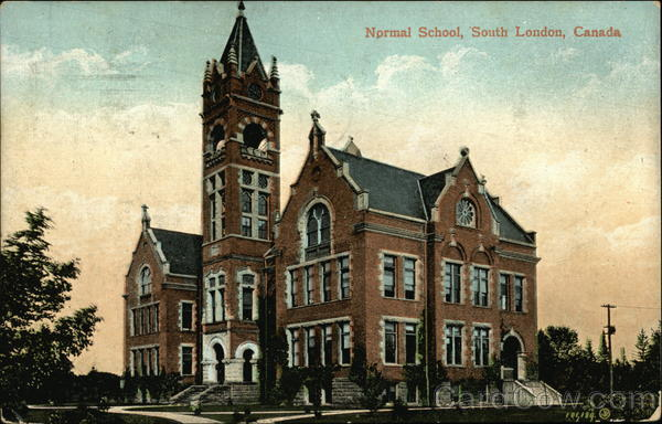 Normal School South London Canada Misc. Canada