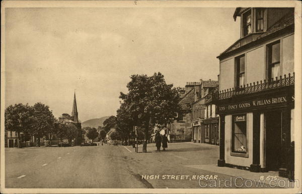 High Street Biggar Scotland