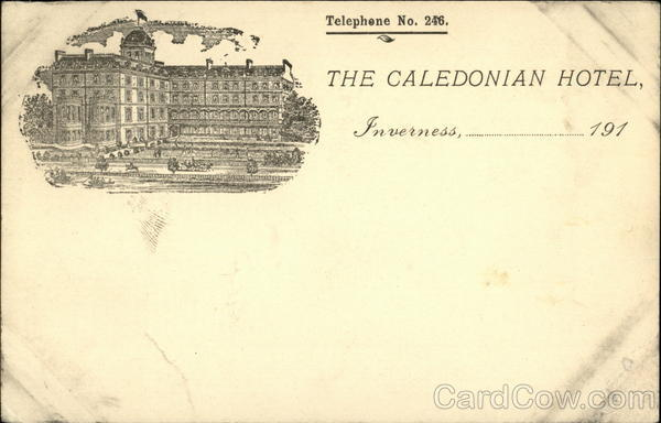 The Caledonian Hotel Inverness Scotland