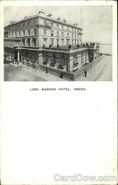 Lord Warden Hotel Dover England Kent