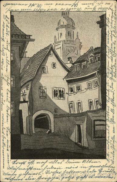 Drawing by H. Muller Wurzburg Art