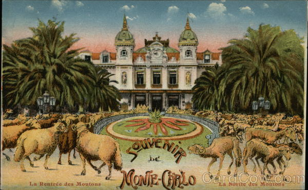 The Casino Monte Carlo Monaco