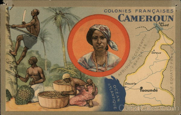 French Colonies Cameroon Africa