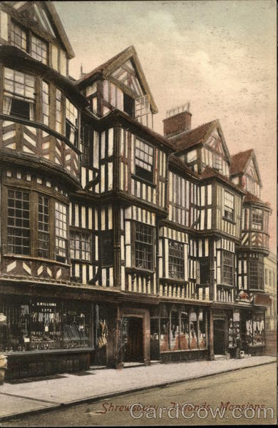 Irelands Mansions Shrewsbury England