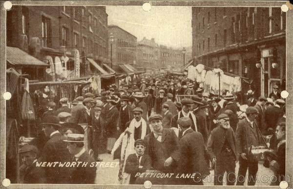 Wentworth Street, Petticoat Lane London England