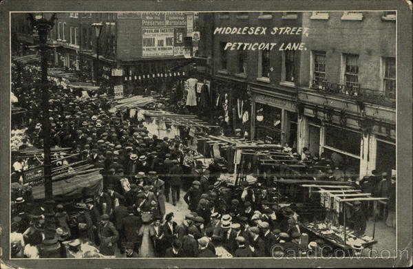 Middlesex Street, Petticoat Lane London England