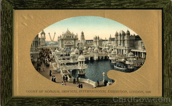 Court of Honour, Imperial International Exhibition, London 1909