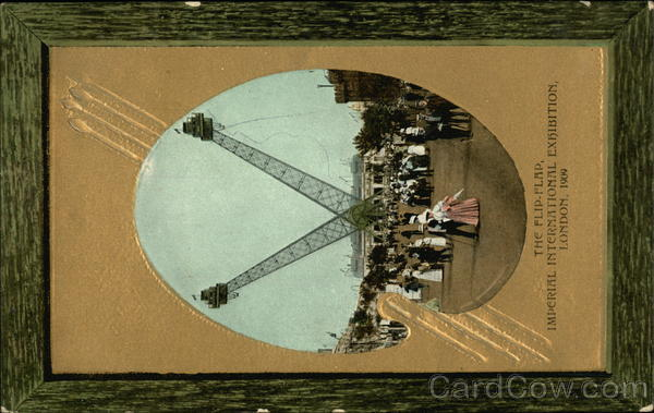The Flip-Flap At The Imperial International Exhibition, 1909 London United Kingdom