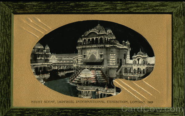 Night Scene, Imperial International Exhibition, London 1909