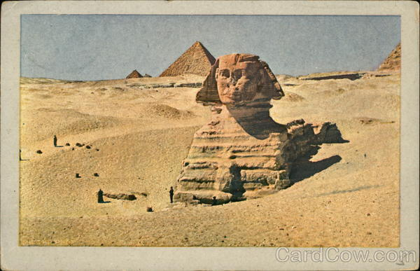 The Great Sphinx Cairo Egypt Africa