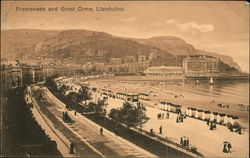 Promenade and Great Orme, Llandudno