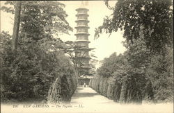 View Of The Pagoda At Kew Gardens