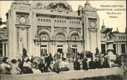 1908 Franco-British Exhibition, London - The Fine Art Palace