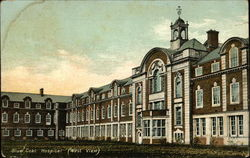 Blue Coat Hospital (West View) Postcard