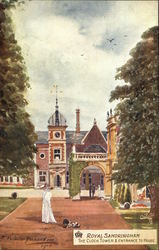 Royal Sandringham - The Clock Tower & Entrance to House