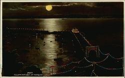Pier Illuminations Postcard