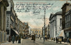 The High Street, Below Bar Postcard