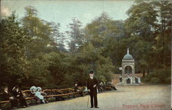 Boggart Hole Clough Park, Blackley Postcard