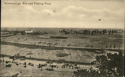 Scarborough Bay and Fishing Fleet
