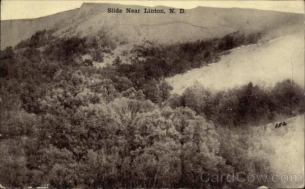 Slide Near Linton, N.D