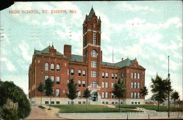 High School St. Joseph Missouri