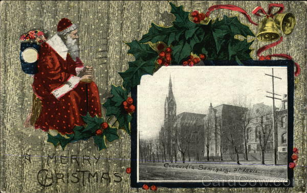 A Merry Christmas, Concordia Seminary St. Louis Missouri
