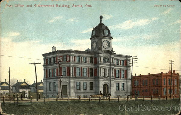Post Office and Government Building Sarnia Canada Ontario