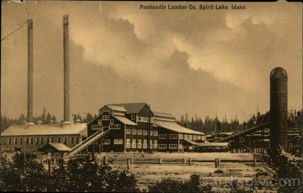 Panhandle Lumber Co Spirit Lake Idaho
