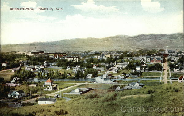 Bird's-Eye View Pocatello Idaho