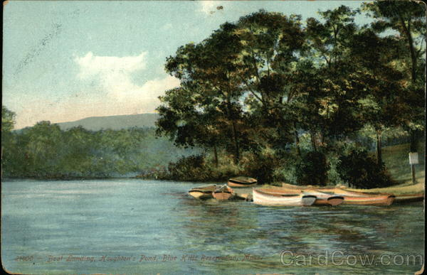 Boat Landing, Houghton's Pond, Blue Hills Reservation Milton Massachusetts
