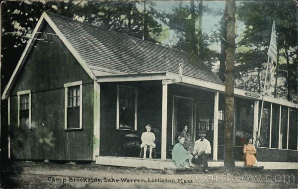 Camp Brookside at Lake Warren Littleton Massachusetts